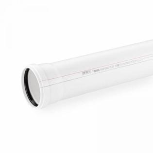 Канализационная труба Rehau 40/1000 мм