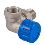 Клапан термостатический Schlosser DN15 1/2  x GW 1/2 трехосевой, правый