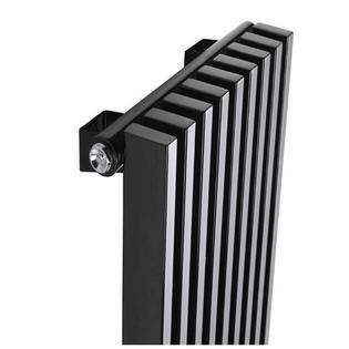 Радиатор КЗТО Параллели В 1-1500-8 шаг 25 нп прав RAL9005