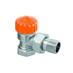"""Термостатический клапан Heimeier Eclipse F, DN15(1/2"""") с автоматич ограничителем расхода, угловой"""