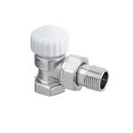 """Термостатический клапан Heimeier Calypso Exact, DN15(1/2""""), с преднастройкой, угловой, латунь"""