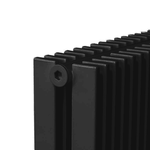 Радиатор КЗТО Параллели В 2-2000-14 шаг 25 нп RAL9005