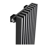 Радиатор КЗТО Параллели В 1-2000-8 шаг 25 нп прав RAL9005