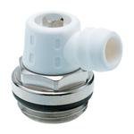 """Спускной вентиль Hummel G3/8"""" привод в действие с помощью ключа с аксиально-поворотным выпуском воды"""
