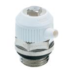 """Воздухоспускной клапан Hummel G1/4"""" привод в действие с помощью ключа, поворотная пластиковая крышка"""