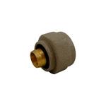 Резьбовое соединение Schlosser для пластиковых труб GW 22x1.5 x 16x2, Ral