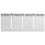Радиатор биметаллический Rifar BVR350/12, межосевое расстояние 350 мм, 12 секций