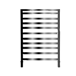 Радиатор-полотенцесушитель IRSAP TOLE 1902/525, водяной, cod.2E (черный хром)  B01