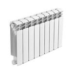 Радиатор биметаллический Rifar B500/09, межосевое расстояние 500 мм, 9 секций