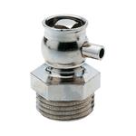 """Воздухоспускной клапан Hummel G1/8"""" привод в действие с помощью ключа, никелированная латунь"""