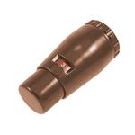 Термостатическая головка Schlosser MINI SH M30*1,5, Ral 8017