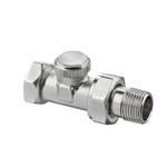 """Радиаторный запорно-регулирующий клапан Heimeier Regutec F,  DN15(1/2""""), проходной"""