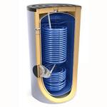 Бойлер косвенного нагрева Ecosystem 2x4/2x9 S2 200 60 с возможностью установки ТЭНа с двумя увеличенными теплообменниками, 302168