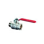 Шаровой кран Oventrop Optibal DN 15, НР-ВР, удлиненная рукоятка из оцинкованной стали