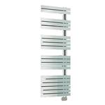 Радиатор-полотенцесушитель IRSAP SOUL 1054/550, электрический, высота 1054 мм, длина 550 мм, цвет белый