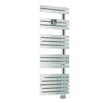 Радиатор-полотенцесушитель IRSAP SOUL RF_D 1054/550, электрический, высота 1054 мм, длина 550 мм, цвет белый