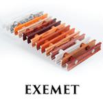 Декоративные решетки EXEMET для внутрипольных конвекторов
