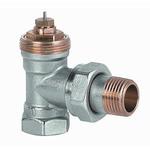 Клапан радиаторный угловой Siemens, 2-ходовой седельный, DIN, 2-х трубная система, PN10, DN15, KV 0.10..0.89, VEN115