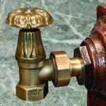 Запорная трубопроводная арматура для чугунных радиаторов