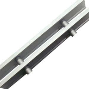 Решетка рулонная Eva, цвет серебристый алюминий