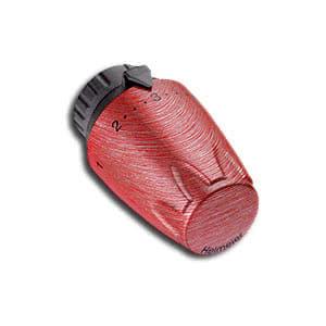 Heimeier Термостатическая головка DX, 6-28°C, настройки 1-5, матовый рубиновый, 6700-02.900