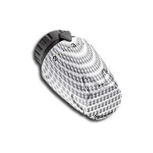 Heimeier Термостатическая головка DX, 6-28°C, настройки 1-5, карбон, эдельвейс, 6700-05.900