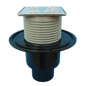 """Трап HL для внутренних помещений с решеткой в металлическом подрамнике, высотой гидрозатвора 50мм, с элементом """"Klik-Klak"""" HL310N-3000"""