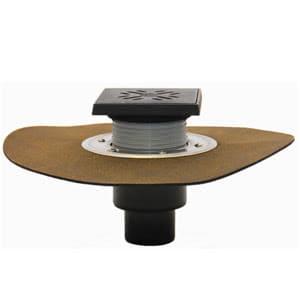 Трап HL для подвалов и технических для подвалов и технических помещений с решеткой и подрамником, с гидроизоляционным полимербитумным полотном HL310NHG