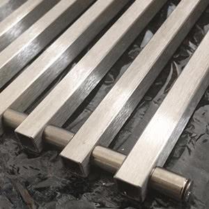Решетка для внутрипольного конвектора MINIB алюминий Т80, L=1500 рулонная