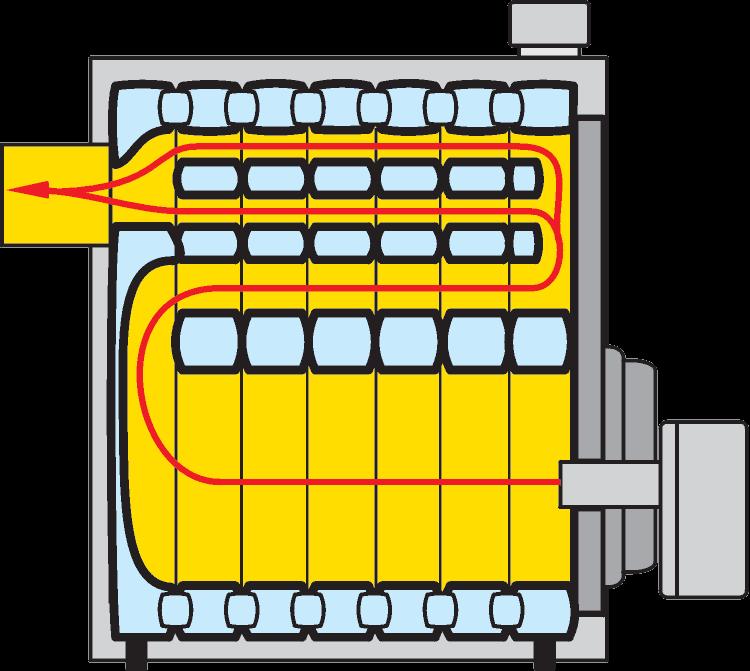 Чугунный отопительный котел MK-1
