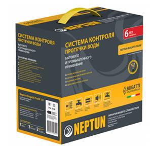 Система контроля протечки воды Нептун Bugatti ProW 3/4