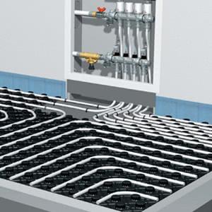 Оборудование для водяного теплого пола OVENTROP
