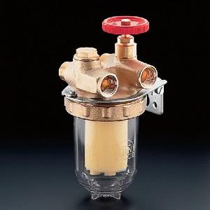 Фильтры жидкого топлива Oventrop Oilpur (сетчатый) Ду 10, G ⅜ (ВР x НР), для двухтрубных систем, арт. 2120403