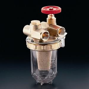 Фильтры жидкого топлива Oventrop Oilpur Sika 0 (бронзовый) Ду 10, внутренняя резьба G ⅜, для двухтрубных систем, арт. 2120003