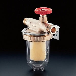 Фильтры жидкого топлива Oventrop Oilpur Sika 0 (бронзовый) Ду 10, G 3/8 (ВР х НР), для однотрубных систем, арт. 2123303