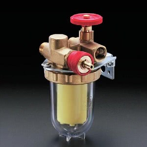 """Фильтры жидкого топлива Oventrop Oilpur (войлочный) Ду 10, G 3/8 (ВР х НР), для двухтрубных систем (с перемычкой """"насос-фильтр""""), арт. 2122503"""