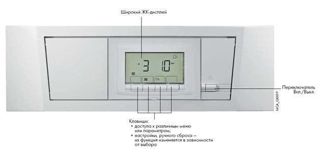 Панель управления AD 271 IniControl для котлов De Dietrich серии Innovens PRO MCA.