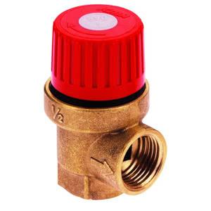 Предохранительный клапан ICMA мембранный, диаметр 1/2, (давление 3,5 Бар), 241/91241ADAG