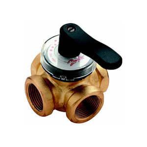 Клапаны регулирующие поворотные Danfoss HRB 3, Ду 25, арт. 065Z0407