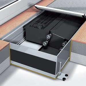 Конвектор Mohlenhoff (отопление/охлаждение) QSK EC HK 320 4L, высота 140, длина 1400