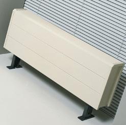 Свободностоящий конвектор JAGA Tempo 10/20/180 стандартный цвет