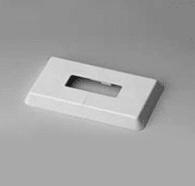 Пластмассовая розетка для заделки в пол