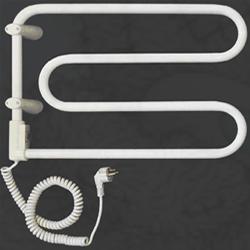 Электрический полотенцесушитель Vandens Angis 2B белый (черная сталь), 5890