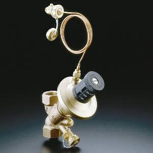"Регулятор перепада давления Oventrop ""Hydromat DTR"" PN16 Ду 20 бронза, настройка 250-700 мбар, Арт. 1064706"
