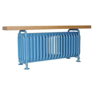 Стальной трубчатый радиатор-скамейка Завалинка РС 4-300-20
