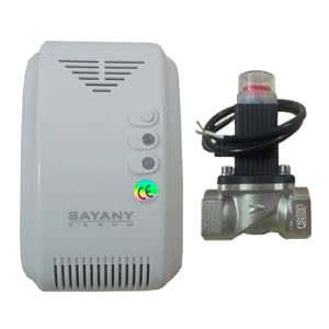 Газовый сигнализатор SAYANY CGA в комплекте с газовым клапаном ду-20