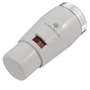 Головка термостатическая SCHLOSSER MINI M30x1,5 Белый, арт. 601100031