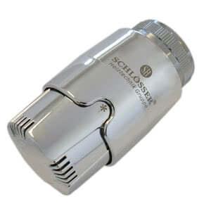Термостатическая головка SCHLOSSER SH Diamant Invest Хром, арт. 600100031