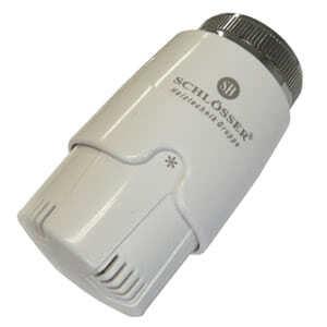 Термостатическая головка SCHLOSSER SH Diamant Invest Белый-белый, арт. 600100030