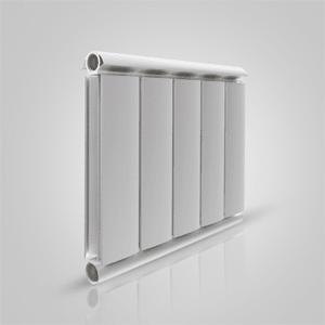 Алюминиевый радиатор Silver 500, белый, 1 секция